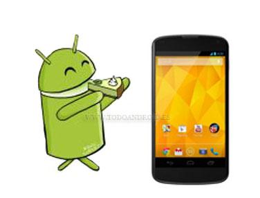 Android 5.0 Key Lime Pie no llegará hasta final de 2013